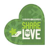 Subaru Hawaii's Share the Love Campaign